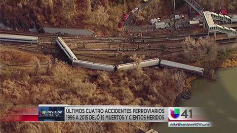 Los accidentes de tren en Nueva Jersey