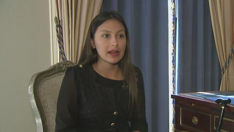 Arlette Contreras, una de las 13 mujeres condecoradas por la Ciudad de L...