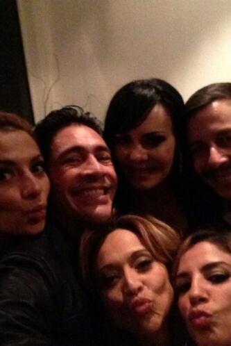 """""""Foto entre amigos @VeronicaBastos1 @MaribelGuardia @ceci_galliano"""", com..."""