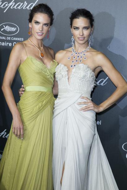 La pareja de modelos brasileñas cautivaron a todo el Festival de Cannes...
