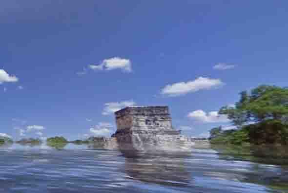 La organización worldunderwater.org publicó varias fotografías de cómo s...
