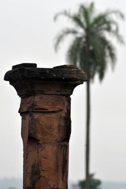 Además de los vestigios arqueológicos el paisaje que ofrece la ruta, rod...