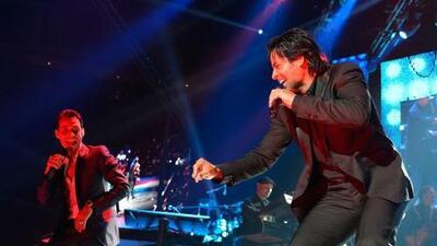 Marc Anthony y Chayanne ofrecieron un espectacular show en la Ciudad de...