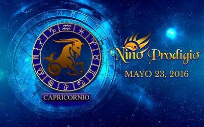 Niño Prodigio - Capricornio 23 de mayo, 2016