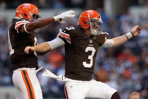 En el primer y segundo cuarto los 'Vaqueros' fueron domados por los Browns.
