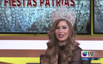 ¡Conoce a la nueva reina de las Fiestas Patrias de Sacramento!