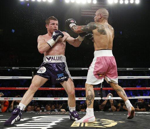 La pelea 'Canelo' Alvarez vs Miguel Cotto superó expectativas de ventas...