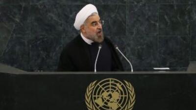 Este jueves el presidente de Irán, Hasán Rohani, subirá al estrado y se...