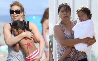 Mariah disfrutó de sus gemelos.