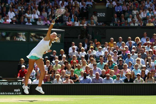 El tenis de Azarenka, de 22 años, explotó en 2011, cuando...