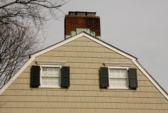 La casa del 112 de Ocean Avenue en el pueblo de Amityville en Nueva York...