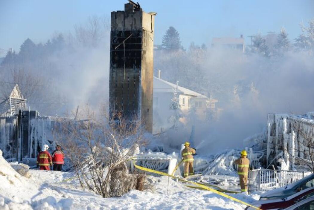 Testigos del incendio han relatado a los medios de comunicación escenas...