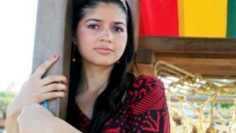 La inmigrante mexicana Elizabeth Laguna Salgado. Fotografía tomada de F...