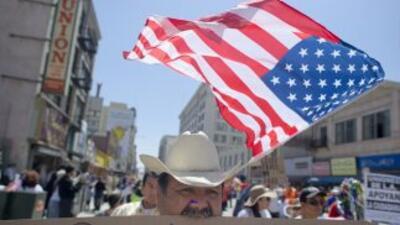 Inmigrantes marcharon el 10 de abril en varios estados para pedirle al C...