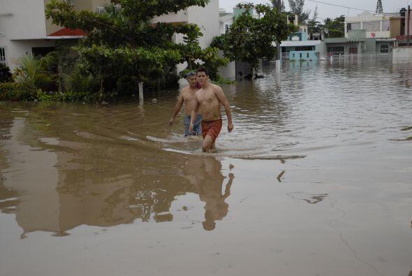 La Antigua, es uno de los poblados veracruzanos más afectados tras el pa...