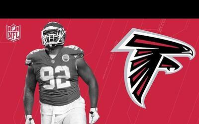 Dontari Poe, bienvenido a los Atlanta Falcons