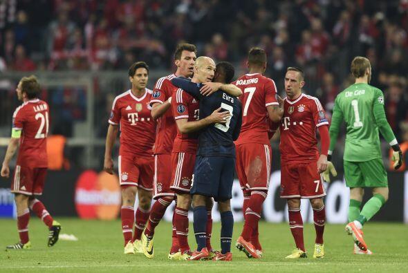 Bayern fue mejor que el United, que cayó con la frente en alto an...