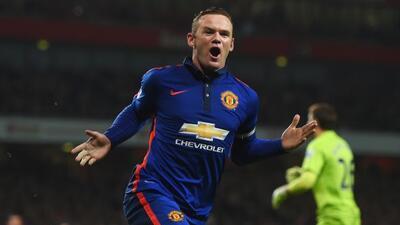 El delantero inglés anotó el gol de la victoria del Manchester United.