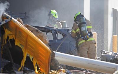 Cuatro turistas estadounidenses mueren al estrellarse su avioneta en Aus...
