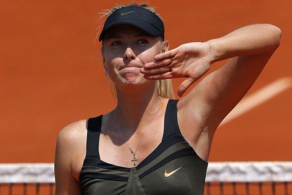 A Sharapova sólo le falta Roland Garros para completar los cuatro grande...