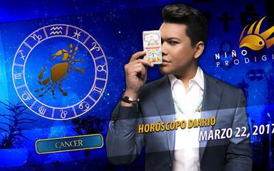 Niño Prodigio - Cáncer 22 de marzo, 2017