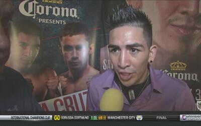 Leo 'Terremoto' Santa Cruz se asume como favorito ante Carl Frampton