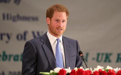 El hijo de Lady Di en su primera visita oficial a Nepal.