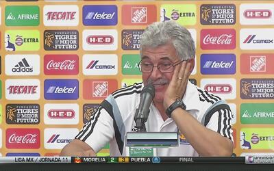 """Ricardo 'Tuca' Ferretti: """"Tuvimos un día malo, rescatamos un punto"""""""