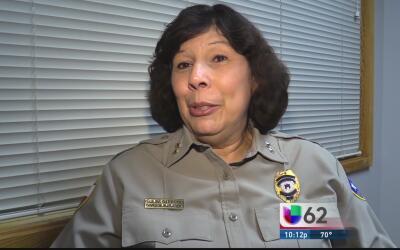 Elaine Garret, la primera mujer latina en ser policía de Austin