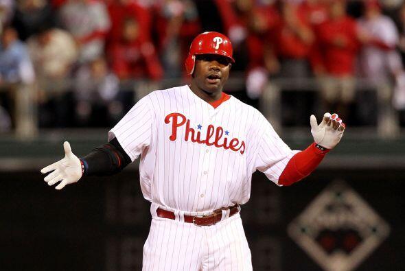 A la altura de la sexta, ambos los Phillies y los Gigantes habían...
