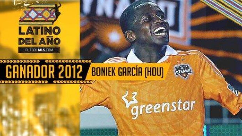 Boniek García Latino del Año 2012