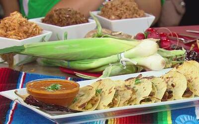 Recetas de quesadillas mexicanas para ver los partidos del Mundial