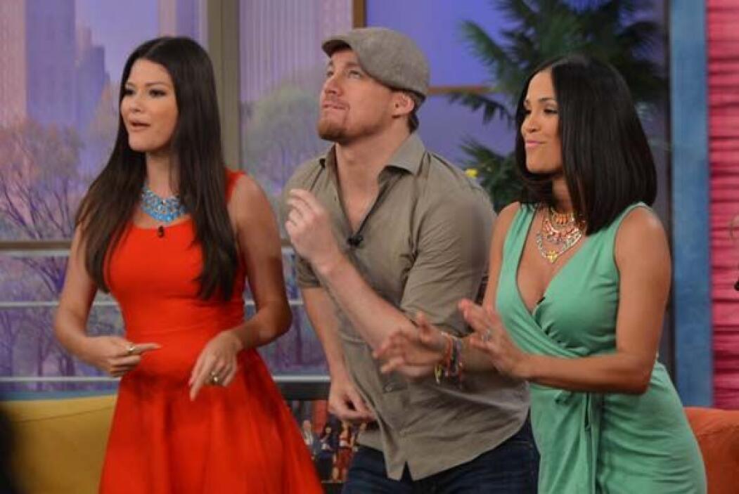 Channing estaba rodeado de mujeres bellas. ¡Y ellas también querían bail...