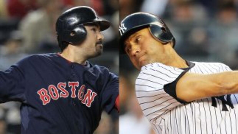 Adrián González y Derek Jeter son los estandartes ofensivos de ambos equ...
