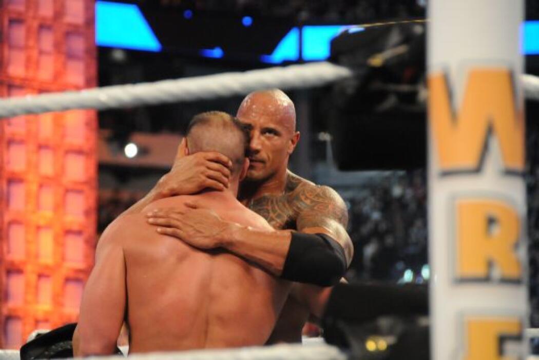 Al final un abrazo entre campeones que parece poner punto final a esta r...