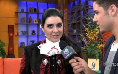 Graciela Beltrán le da un giro a su carrera en inglés