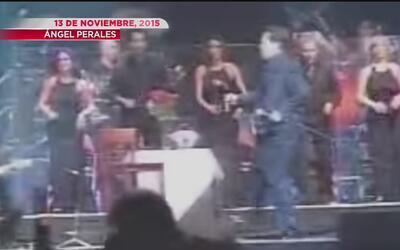 El día que Juan Gabriel se cayó del escenario durante un concierto en Ho...