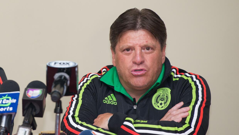 El DT del Tri señaló que  buscarán la Copa América y Copa Oro.