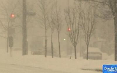 El 2014 comenzó con varios estados totalmente cubiertos de nieve