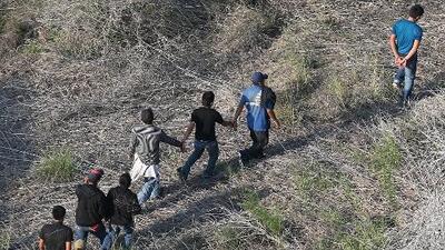 Ha disminuido el número de inmigrantes cruzando la frontera
