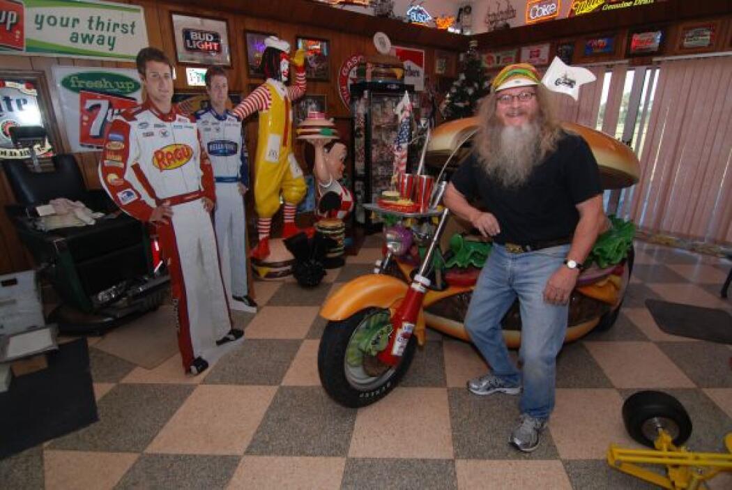 Sin embargo es la 'Hamburguer Harley' su más preciado tesoro.