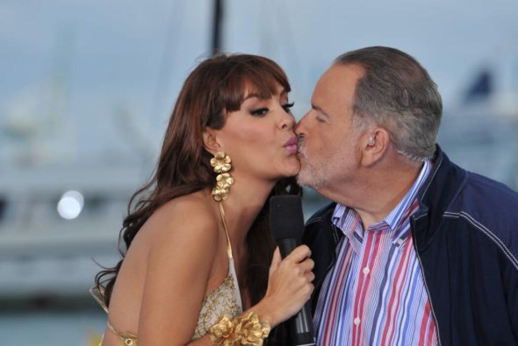'El Gordo' jamás ocultó su amor platónico por Ninel Conde (y ¿quién lo h...
