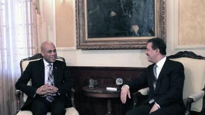 Ambos se proponen fortalecer las relaciones bilaterales y buscar solucio...