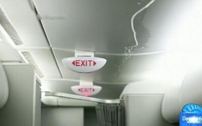 Tubería de agua se rompió en pleno vuelo