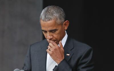 El presidente Barack Obama en la inaugruación del Museo de Histor...