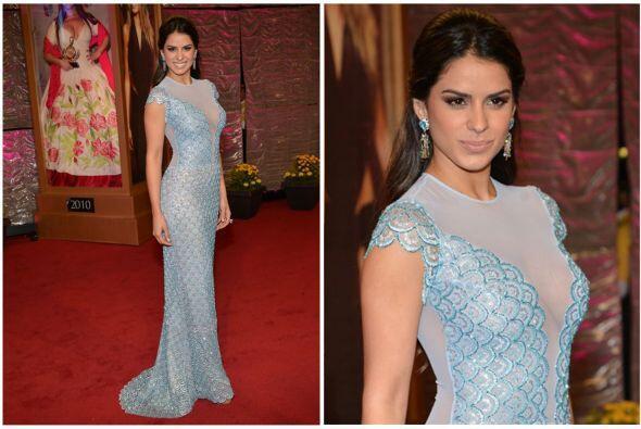 Vanessa contó con la ayuda de sus seguidores para elegir su vestido.