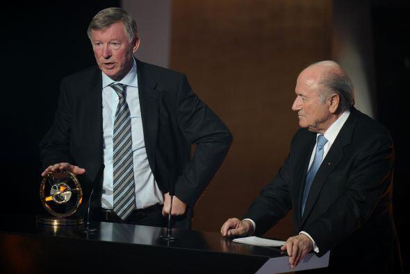 El líder del Manchester United recibió el premio Distinción Presidencial...