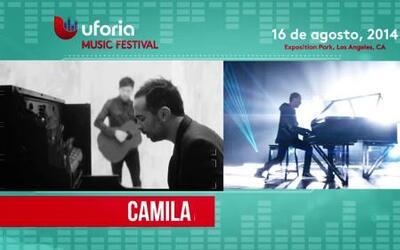 ¡Camila es otro de los invitados al Uforia Festival!