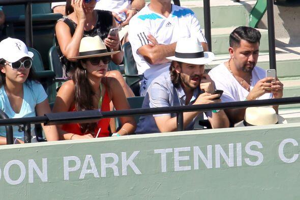 Paulina se vio discreta, a lo mejor el tenis no es lo suyo, pero por est...