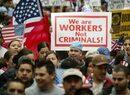 El proyecto de reforma migratoria incluye una vía regulada de legalizaci...